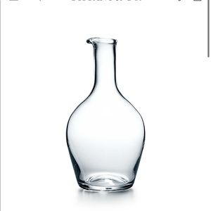 Tiffany Crystal Decanter New in Box! For Wine